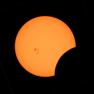 Annular eclipse of the Sun on Sunday 21 June, 2020